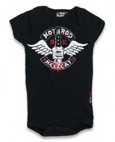 SPARKPLUG, Hotrod Hellcat Kids, Romper at Switchblade Clothing
