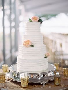 Cake by PPHG Pastry Chef Jessica Grossman | Lowndes Grove Plantation | Charleston, South Carolina | Photo by Landon Jacob