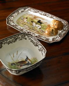 Spode Woodland dishes