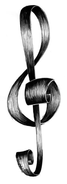 Clave de Sol - Treble Clef by K4TyUsH4
