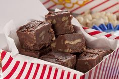 Fast Chocolate Pecan Fudge | MrFood.com
