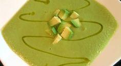 Receta Sopa Fría de Aguacate y Jengibre | Los Sabores de México y el mundo