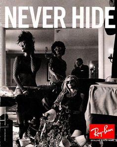Never Hide.