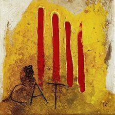 Antoni Tàpies i Puig, 1st Marquess of Tàpies was a Catalan painter, sculptor and art theorist, who became one of the most famous European artists of his generation. Won the Wolf Award.