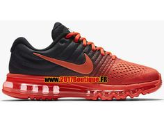 best sneakers 69b43 f483d Nike Air Max 2017 Chaussures Nike Running Pas Cher Pour Homme Rouge   Noir  849559-600