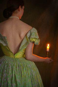 https://flic.kr/p/hERuty | victorian woman undressing by candlelight | victorian woman undressing by candlelight