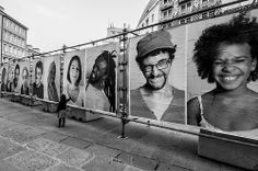 portraits on the street