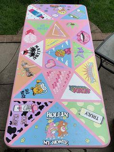 Custom Beer Pong Tables, Beer Bong, Art Sur Toile, Drinking Games For Parties, Niklas, Diy Canvas Art, Diy Table, Custom Paint, Wall Collage