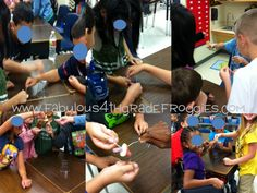 Fabulous 4th Grade Froggies: First Day of School Fun & Currently