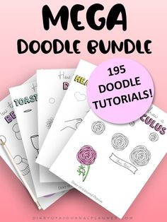 Step by step doodle instructions. Doodle step by step, doodle step by step easy, doodle step by step cute, doodle step by step bullet journal, doodle step by step food, doodle step by step zentangle patterns, bullet journal doodles step by step. Happy Doodles, Love Doodles, Simple Doodles, Doodles Zentangles, Zentangle Patterns, Journal Layout, Art Journal Pages, Doodle Drawings, Easy Drawings