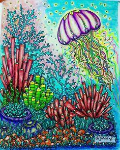 Mais um desse livro magnifico Dagdrommar,Hanna Karlzon#coloring…