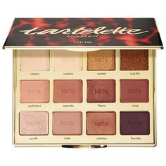 Shop tarte's Tartelette™ Toasted Eyeshadow Palette at Sephora. This party-in-a-palette features 12 all-new, warm and cozy shades to celebrate tartelettes. Mac Makeup, Makeup Kit, Makeup Tools, Skin Makeup, Beauty Makeup, Sephora Makeup, Makeup Tutorials, Makeup Eyeshadow, Makeup Geek