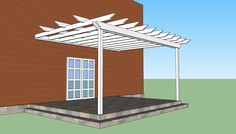 small backyard pergola ideas | Pergola design | HowToSpecialist - How to Build, Step by Step DIY ...