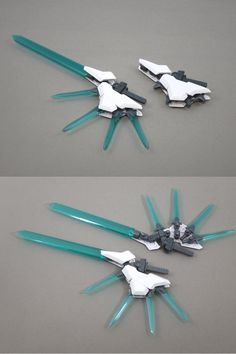 Claw Gloves, Lego Guns, Frame Arms Girl, Cool Robots, Cool Anime Wallpapers, Gundam Art, Custom Gundam, Fantasy Weapons, Gundam Model