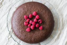 Lactose- en glutenvrije chocoladetaart - Zoetrecepten