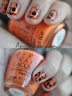 60's nails-Groovy