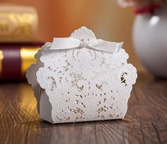 50 Victorian Wedding Favor Gift Boxes/DIY Elegant Wedding Gift