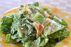 """Point-less"" Meals: Pesto Caesar Salad"