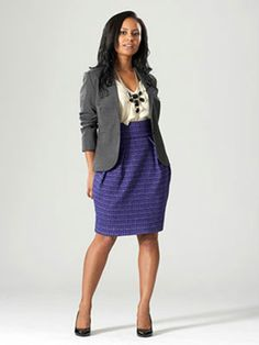 What to Wear to Work - Marie Claire  the skirt is super cute but IDK if that would fly