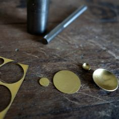 Fine jewelry, ethically made of recycled gold and silver. Maura, Fine Jewelry, Jewelry Making, Stud Earrings, Silver, Gold, How To Make, Stud Earring, Jewellery Making