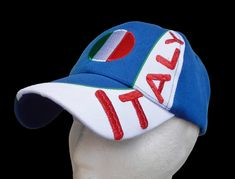Italy Italian Italia Flag Baseball Sports Cap Hat 0cd7c2f87