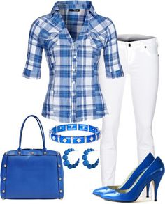 As a member of ZETA PHI BETA, INC. SORORITY, I would rock this royal blue and white!
