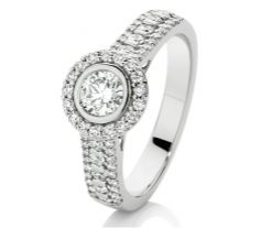 It's on my finger. Diamond Engagement Rings, Bracelet Watch, Wedding Inspiration, Bracelets, Finger, Accessories, Jewelry, Jewlery, Jewerly