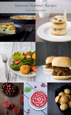 75+ Seasonal Summer Recipes Roundup