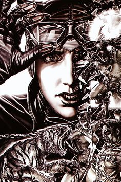 Catwoman by Lee Bermejo