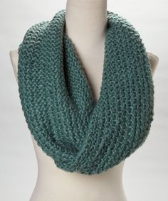 Take a look at this Veond Teal The Sweetheart Infinity Scarf on zulily today!