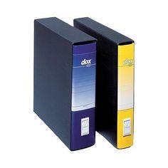 Registratore Acco Dox 1 dorso 8 cm 23x29,7 cm Blu - https://www.cancelleria-ufficio.eu/p/registratore/