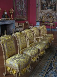 Chairs in the apartments of Napoleon III