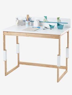 Lieblich Höhenverstellbarer Schreibtisch Von Vertbaudet In Weiß/natur   Nur U20ac  Versand! Kinderzimmer Jetzt Bei Vertbaudet Bestellen!