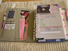 Musings of a Caribbean princess: My scrapbooking planner: Craft-o-fax Domino filofax