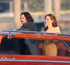 Angelina and Johnny in The Tourist! One of my favorites!!!