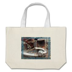 Cool Retro Junk Car Canvas Bag!  There's a great selection of styles to choose from.  Starting around $22 this bag is very affordable!
