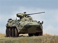 Russian BTR 82 personnel vehicle