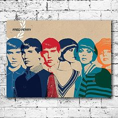 Pop Art Products 38cm x 28cm - Fred Perry MOD Large Canvas Art Print. Retro Scooter Moped Funky Artwork Gift High Quality Retro Canvas Art Print stretched across a wooden frame. Measures approx. 38cm x 28cm (Barcode EAN = 5055283168072). http://www.comparestoreprices.co.uk/december-2016-5/pop-art-products-38cm-x-28cm--fred-perry-mod-large-canvas-art-print-retro-scooter-moped-funky-artwork-gift.asp