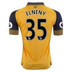16-17 Arsenal Football Shirt Away Cheap Replica #35 ELNENY Jersey [G363]