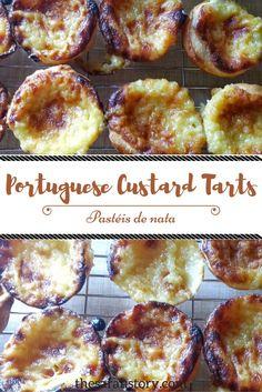 How to make and enjoy Pastéis de nata or Portuguese custard tarts.