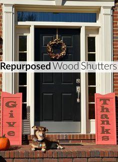 Repurposed Wood Shut