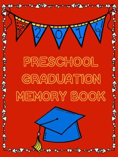 Just in time for your preschool graduation! This book includes 18 ready to use pages to showcase to your parents their little ones hard work from preschool this year!