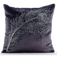 Handmade Purple Charcoal Pillows Cover, Crystals Peacock ... https://www.amazon.com/dp/B0164600SA/ref=cm_sw_r_pi_dp_x_GSHbybM28V1YW