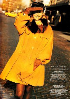Josie Borain 1989 #supermodels #vintage #glamour #retro #nostalgia #1980s #1990s