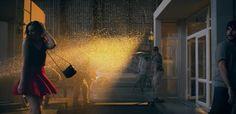 Filmed in one single shot…   Volkswagen TV Commercial Shot By The New Golf GTi