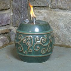 Find it at the Foundary - Alfresco Home Ashbel Fire Burner - Set of 2