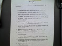 Family Ties Chemistry Worksheet Livinghealthybulletin