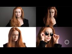 (91) Four Looks, One Gray Background : Take and Make Great Photography with Gavin Hoey - YouTube