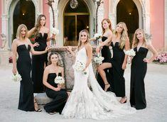 Fabulous wedding at Villa Ephrussi de Rothschild in French Riviera Groom Attire, Wedding Bridesmaid Dresses, French Riviera, Party Photos, Bridal, Style, Fashion, Swag, Moda