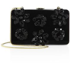 Prada Flower Plexi Chain Clutch (€1.890) ❤ liked on Polyvore featuring bags, handbags, clutches, handbag purse, prada handbags, acrylic clutches, flower handbags and chain strap handbags